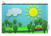 Driving Through Countryside Carry-all Pouch