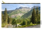 Driving Through Glacier National Park Carry-all Pouch