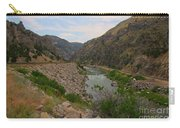 Driving Through Wind River Canyon Carry-all Pouch