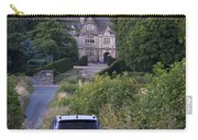 Driving To Manor House Carry-all Pouch