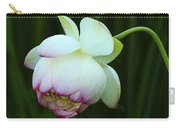 Drooping Lotus Carry-all Pouch
