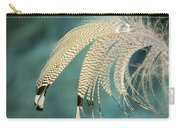 Droopy Feather Carry-all Pouch