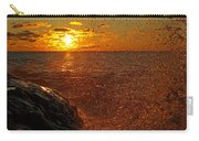Droplets Of Gold Carry-all Pouch