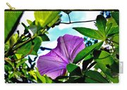 Droplets On Petal Carry-all Pouch