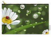 Drops Of Spring Carry-all Pouch