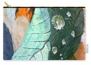 Drops On A Leaf Carry-all Pouch by Daniel Janda