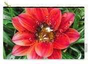 Drops On Gazania Carry-all Pouch