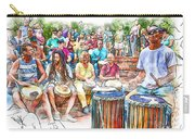 Drum Circle Of Friends Carry-all Pouch