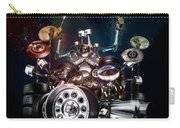 Drum Machine - The Band's Engine Carry-all Pouch by Alessandro Della Pietra