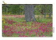 Drummonds Phlox And Crown Tickweed Central Texas Carry-all Pouch