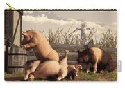 Drunken Pigs Carry-all Pouch by Daniel Eskridge