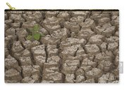 Dry Cracked Mud  Carry-all Pouch