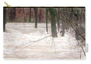 Dry Creek-but Swift Waters Carry-all Pouch