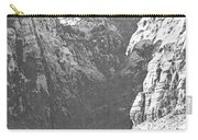 Dry Desert Waterfall Pencil Rendering Carry-all Pouch