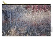 Dry Grasses And Bare Trees Carry-all Pouch by Elena Elisseeva