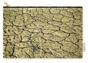 Dry Soil In Lake Bottom During Dryness Carry-all Pouch