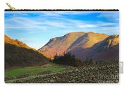 Dry Stone Walls In Patterdale In The Lake District Carry-all Pouch