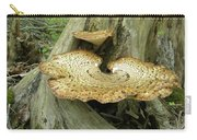 Dryads Saddle Bracket Fungi - Polyporus Squamosus Carry-all Pouch