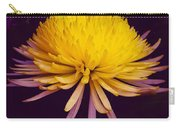 Dual Coloured Chrysanthemum Carry-all Pouch
