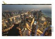 Dubai Marina Twilight Carry-all Pouch