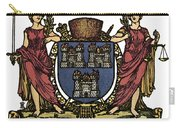 Dublin Coat Of Arms Carry-all Pouch