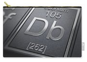 Dubnium Chemical Element Carry-all Pouch