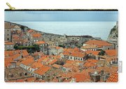Dubrovnik Rooftops And Walls Carry-all Pouch