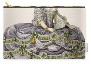 Duchess Evening Gown, Engraved Carry-all Pouch