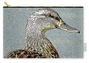 Duck Art Tribal Mallard Carry-all Pouch