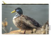 Duck By Pond Carry-all Pouch