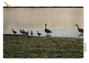 Duck Family Panorama Carry-all Pouch by Bill Cannon