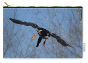 Duck In Flight Carry-all Pouch