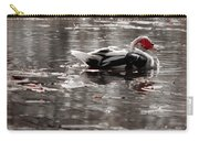 Duck In Lake  Carry-all Pouch
