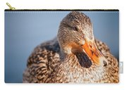 Duck In Water Carry-all Pouch