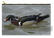 Angry Wood Duck Carry-all Pouch