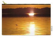 Duck On Sunset Carry-all Pouch