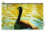 Duck Swimming Away Carry-all Pouch
