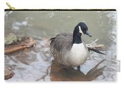 Duck Wading In A Stream Carry-all Pouch