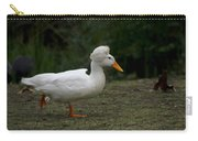 Duck With Stylish Hair Carry-all Pouch