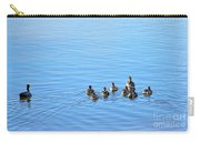 Ducklings Day Out Carry-all Pouch by Kaye Menner