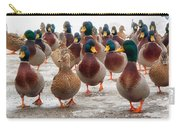 Duckorama Carry-all Pouch by Bob Orsillo