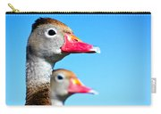 Ducks At Attention Carry-all Pouch