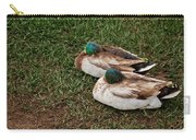 Ducks At Rest Carry-all Pouch