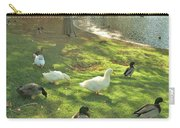 Ducks At The Park Carry-all Pouch