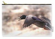 Ducks Have Teeth - Mallard Carry-all Pouch