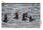 Ducks In Pond Carry-all Pouch