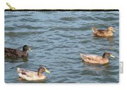 Ducks On Spaulding Pond Carry-all Pouch