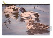 Ducks On The Cachuma Carry-all Pouch