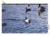 Ducks Swimming  Carry-all Pouch