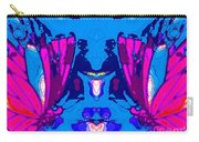 Dueling Butterflies Carry-all Pouch